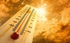 High temperatures can pose a risk for data centers.